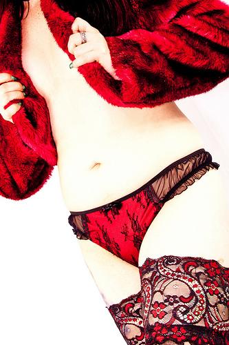 červená móda